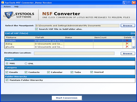 Lotus Notes to Windows Live Mail is to export IBM Notes NSF
